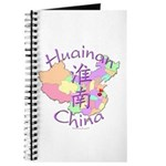 Huainan China Map Journal