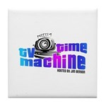 TV Time Machine Tile Coaster