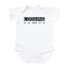 Logging Is Infant Bodysuit