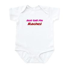 Just Call Me Rachel Infant Bodysuit