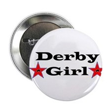 "Derby Girl - Star 2.25"" Button"
