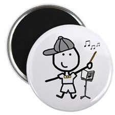 "Boy & Conductor 2.25"" Magnet (10 pack)"