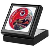 North Coast Railroad Keepsake Box