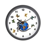 Gecko Friends Wall Clock