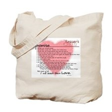 Rescuers Creed Tote Bag