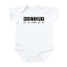History Is Infant Bodysuit