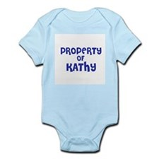 Property of Kathy Infant Creeper