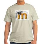 Moosaic Ash Grey T-Shirt