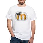 Moosaic White T-Shirt