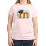 Moosaic Women's Pink T-Shirt