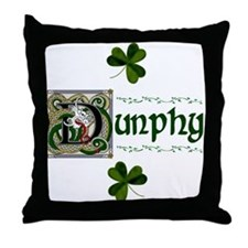 Dunphy Celtic Dragon Throw Pillow