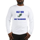 Half Man Half Salamander Long Sleeve T-Shirt