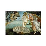 Botticelli's Birth of Venus Rectangle Magnet (10 p