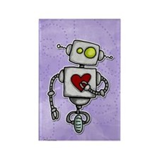 love bot Rectangle Magnet (100 pack)