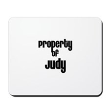 Property of Judy Mousepad