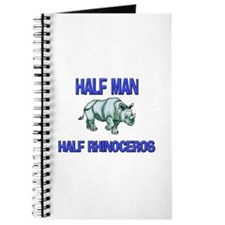 Half Man Half Rhinoceros Journal