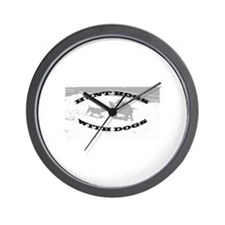 Hogdoggin Wear Wall Clock