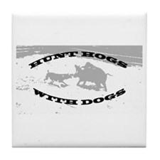 Hogdoggin Wear Tile Coaster