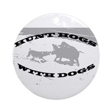 Hogdoggin Wear Ornament (Round)