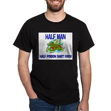 Half Man Half Poison Dart Frog T-Shirt