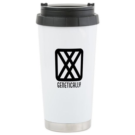 Genetically : Female Ceramic Travel Mug