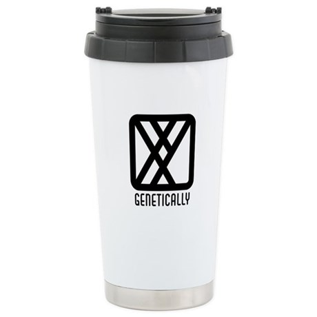 Genetically : Male Ceramic Travel Mug