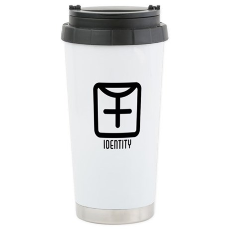 Identity : Female Ceramic Travel Mug