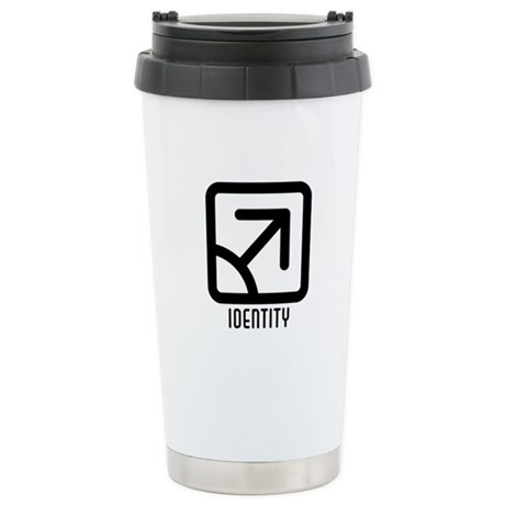 Identity : Male Ceramic Travel Mug