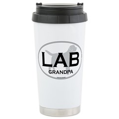 LAB GRANDPA II Ceramic Travel Mug