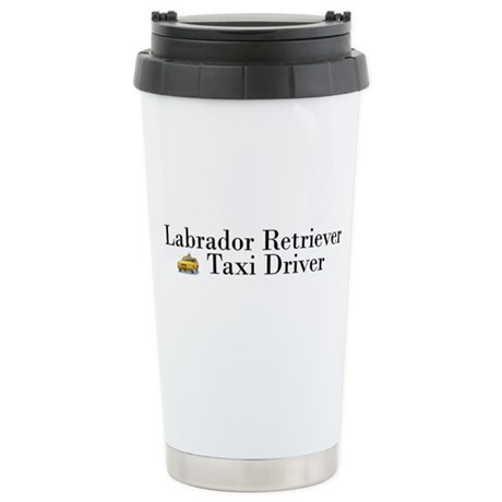 All Lab Taxi Ceramic Travel Mug