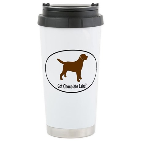 Got Chocolate Labs II Ceramic Travel Mug