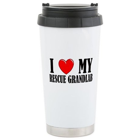 Rescue Grandlab Ceramic Travel Mug