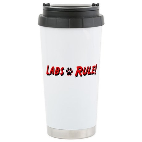 Labs Rule Ceramic Travel Mug
