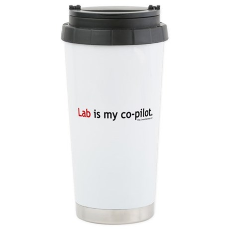 Lab Co-Pilot Ceramic Travel Mug