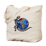 Gecko Planet Tote Bag