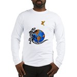 Gecko and Butterfly Long Sleeve T-Shirt