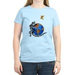 Gecko and Butterfly Women's Light T-Shirt
