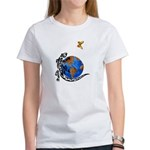 Gecko and Butterfly Women's T-Shirt