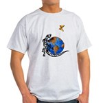 Gecko and Butterfly Light T-Shirt
