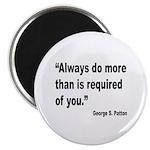 Patton Do More Quote Magnet