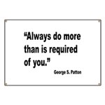 Patton Do More Quote Banner