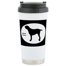 Spinone Italiano Silhouette Ceramic Travel Mug