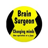 "Brain Surgeon 3.5"" Button"
