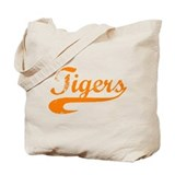 Go Tigers! (O) Tote Bag