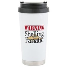 Shelling Fanatic - Ceramic Travel Mug