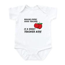 Great Teacher Aide Infant Bodysuit