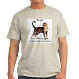 Cool people love bengals Ash Grey T-Shirt