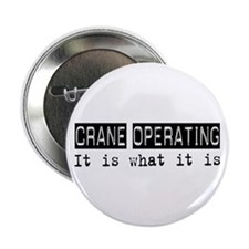 "Crane Operating Is 2.25"" Button (10 pack)"