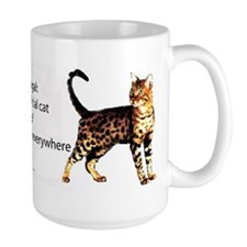 Cool people love bengals Mug