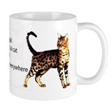 Cool people love bengals Small Mug